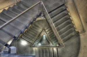Yale-Art-Gallery-Stair