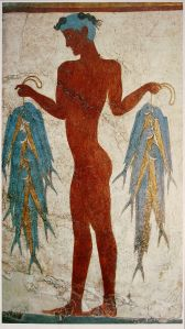Fresco_of_a_fisherman,_Akrotiri,_Greece